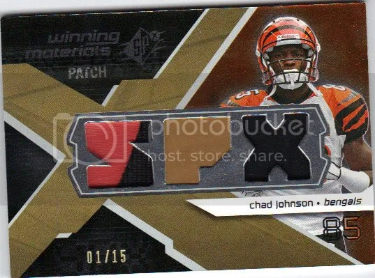 Chad Johnson #1/15