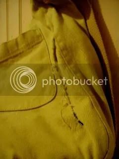 Slashed bag