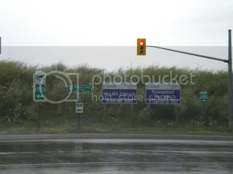 end of Highway 404