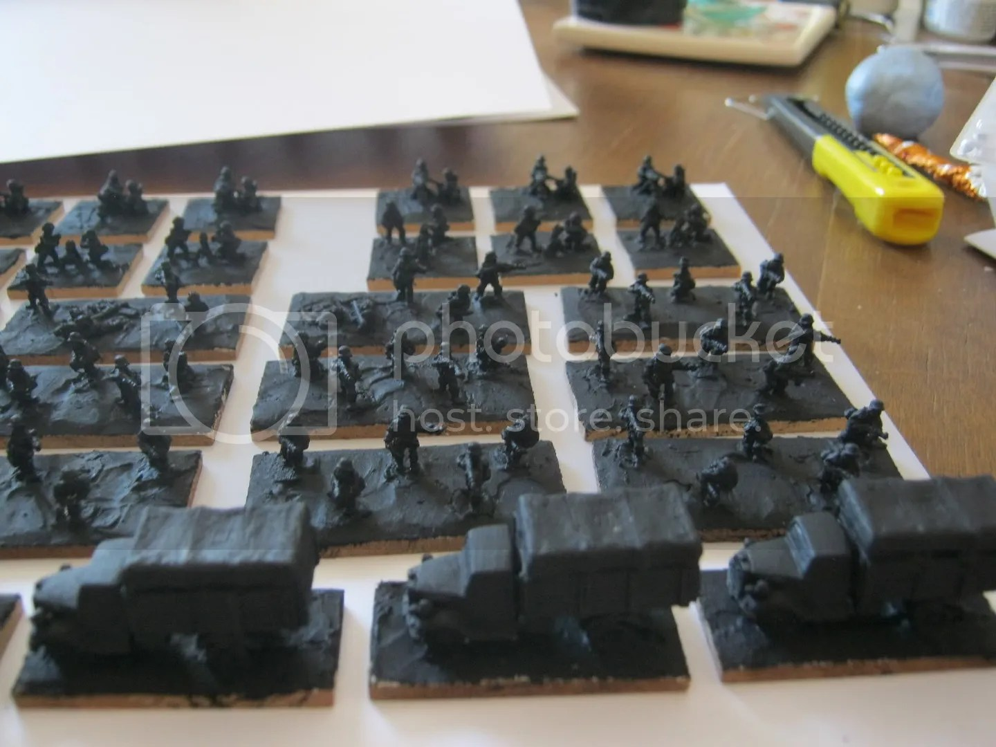 Undercoated Germans