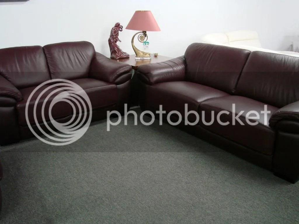 Natuzzi Blair Leather Sofa