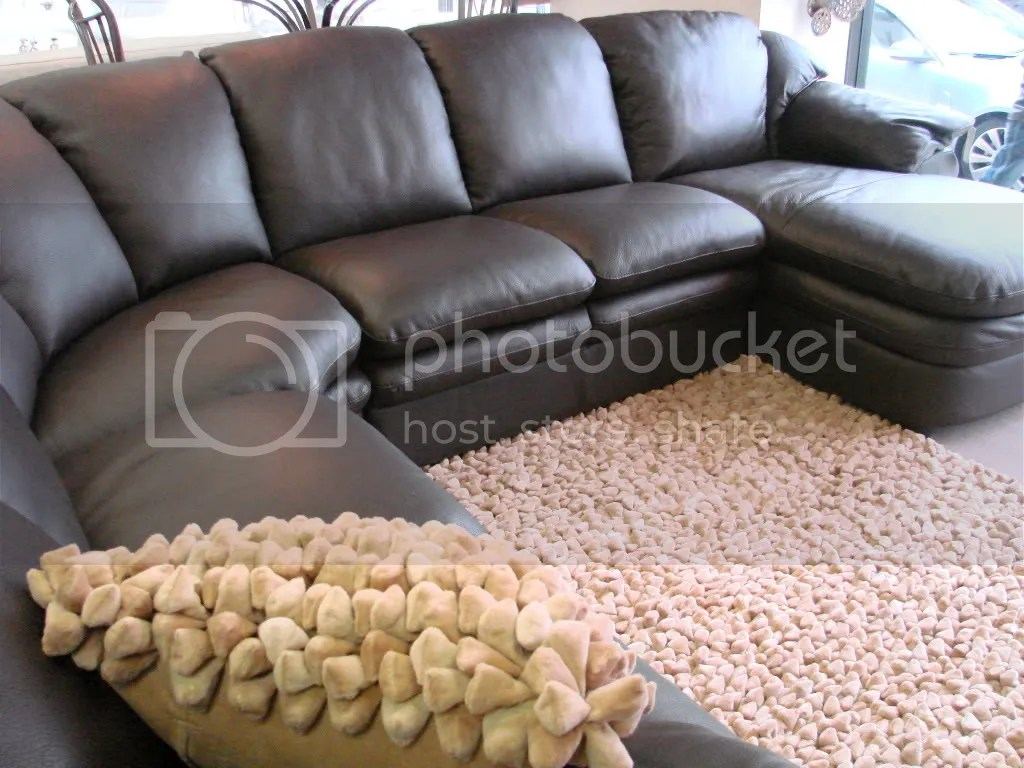 Memorial Day Sale Natuzzi Editions A845 Brown Leather