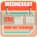 Hump Day $50 Giveaway