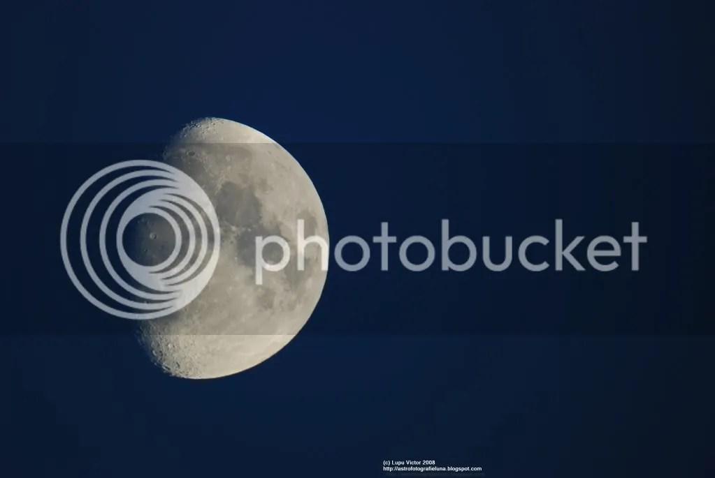 Luna cu nikon d80
