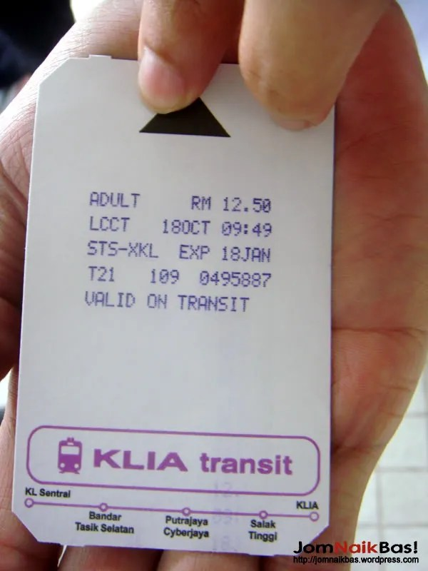 The tickets issued for travel.