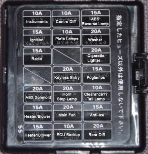 1998 Subaru Legacy Fuse Box 1996 Diagram Bg5 Jdm General
