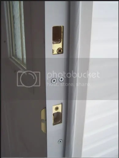 How to Repair a Kicked in Door Jamb Door Security Door Frame Reinforcement Fix a Cracked Door Casing Metal Door Frame by http://kickproof.com