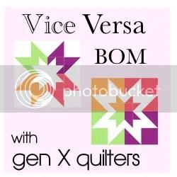 Gen X Quilters Vice Versa BOM
