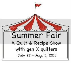 Gen X Quilters Summer Fair