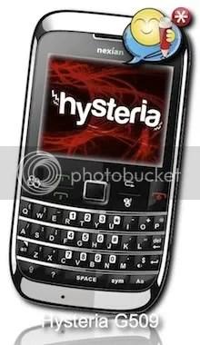 nexian hysteria g509