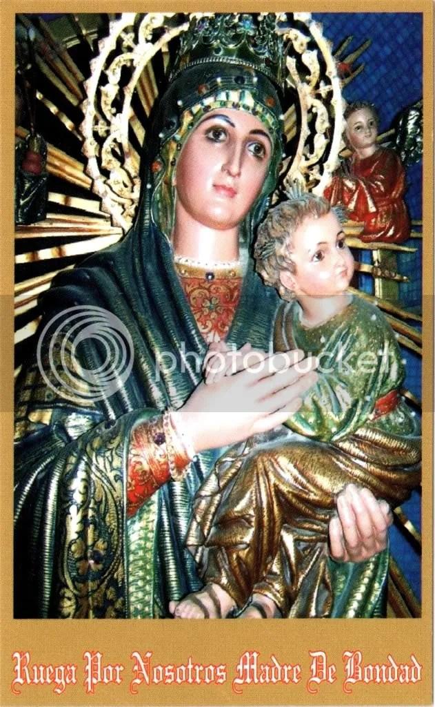 Imagen de la Virgen del Perpetuo Socorro en Piura