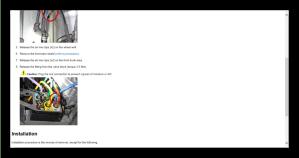 Tesla S model Service Repair Workshop Manual  Wiring