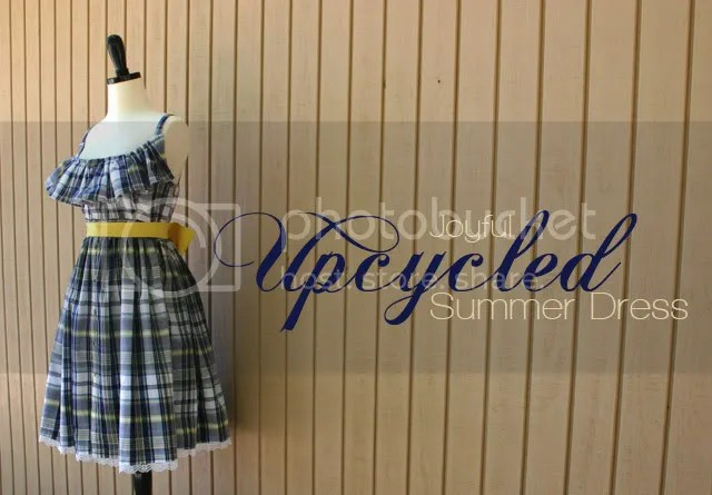 upcycled summer dress
