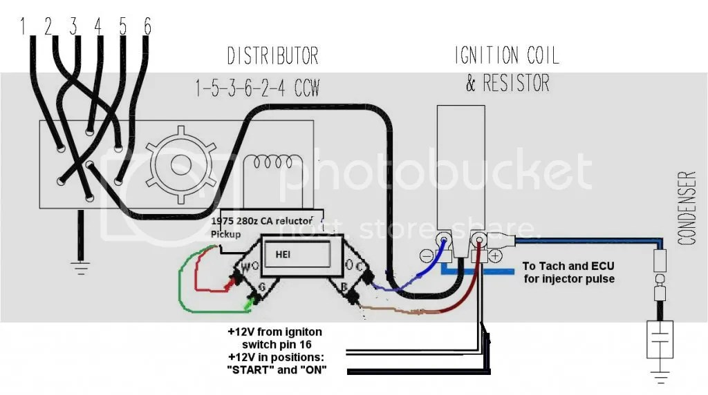 1989 jeep grand wagoneer mag pu further Wiring Diagram For Electronic Distributor Troubled Child Gm Tbi Ignition Wiring likewise Chevy 350 Coil Wiring Diagram additionally Detail together with Hei Ignition Wiring Diagram. on mallory distributor wiring diagram