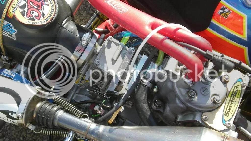 The Intake on the Honda
