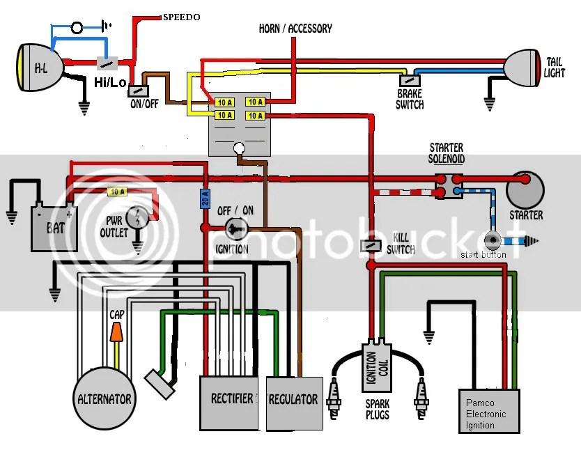 yamaha xs650 rewiring electrical schematics diagram rh culturetearoom com