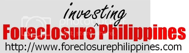Your online resource for foreclosure investing in the Philippines