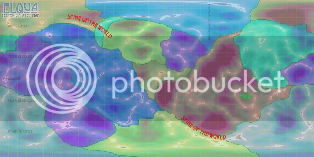 Tectonic plates of Elqua