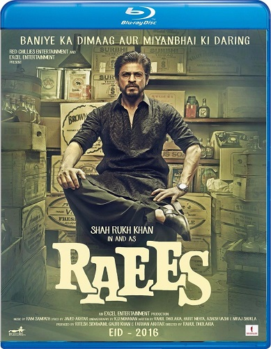 Raees 2017 1080p BluRay DTS x264-DDR
