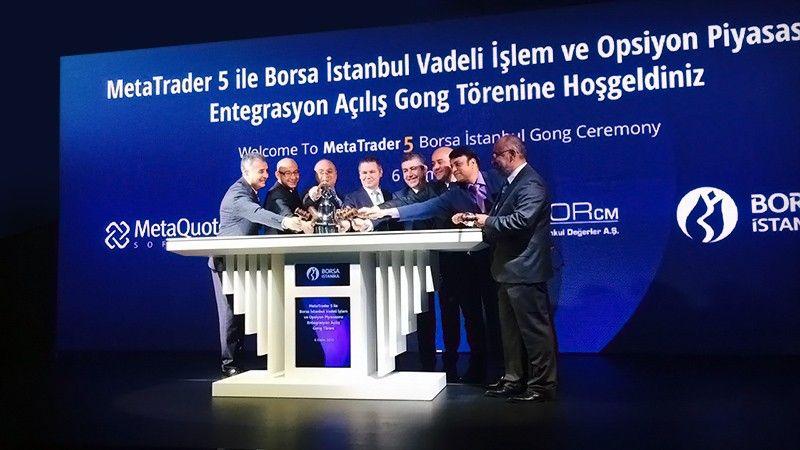 MetaTrader 5 is running on the Istanbul Stock Exchange, Borsa Istanbul