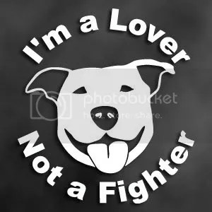 I'm a lover...Not a Fighter!