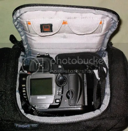 Camera compartment with D70