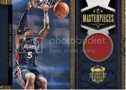 09/10 Panini Court Kings Master Pieces Josh Smith