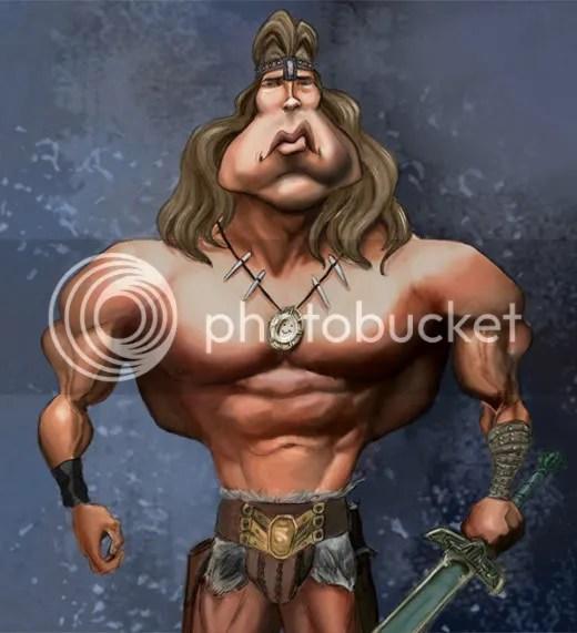 Arnold SCHWARZENEGGER Conan The Barbian