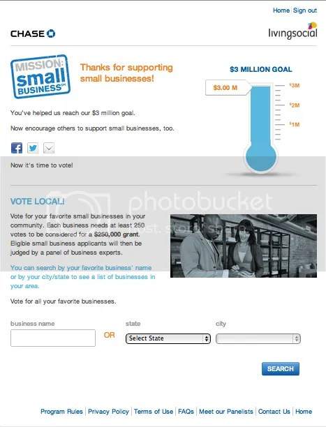 Mission Small Business Vote for Social Savvy Geek 3a