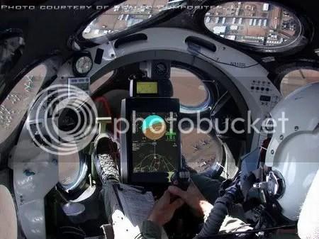 Cabina del SpaceShipOne