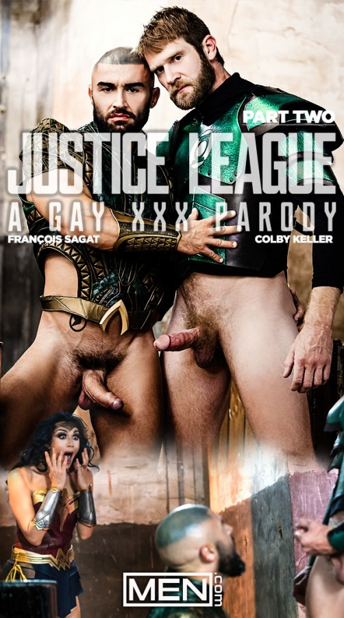 MEN – Justice League – A Gay XXX Parody Part 2 – Colby Keller, Francois Sagat