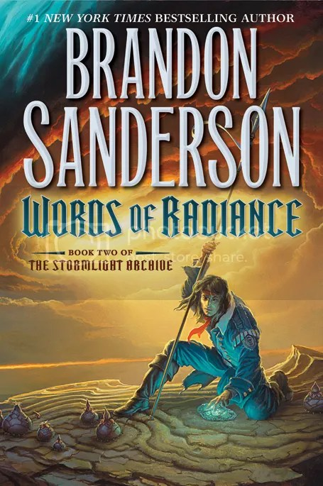 """""""Words of Radiance, Book Two of the Stormlight Archive"""" by Brandon Sanderson (Tor, 2014) (1/6)"""