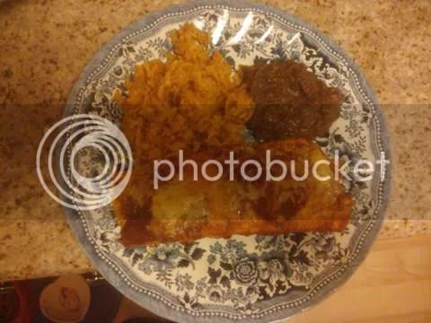 Plate o' Enchilada