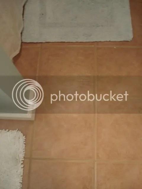 New tile flooring