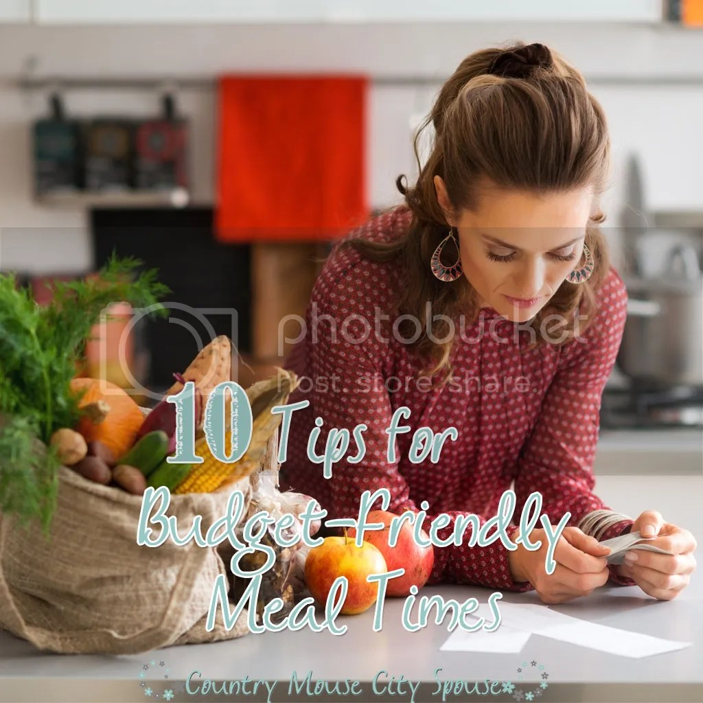 10 Tips for Budget-Friendly Meal Times- Country Mouse City Spouse