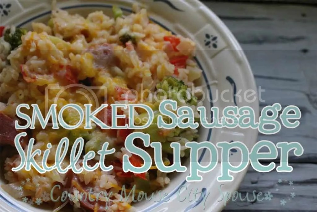 Smoked Sausage Skillet Supper