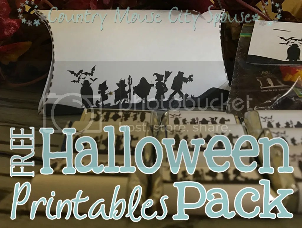 Free Halloween Printables Pack- Country Mouse City Spouse