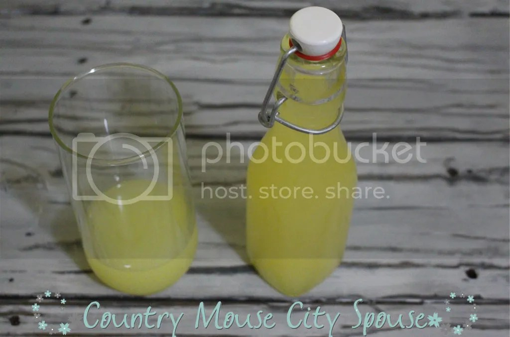 *Recipe* Homemade Limoncello