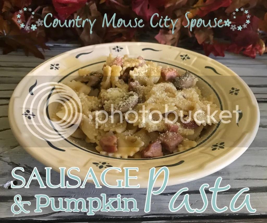 Sausage & Pumpkin Pasta