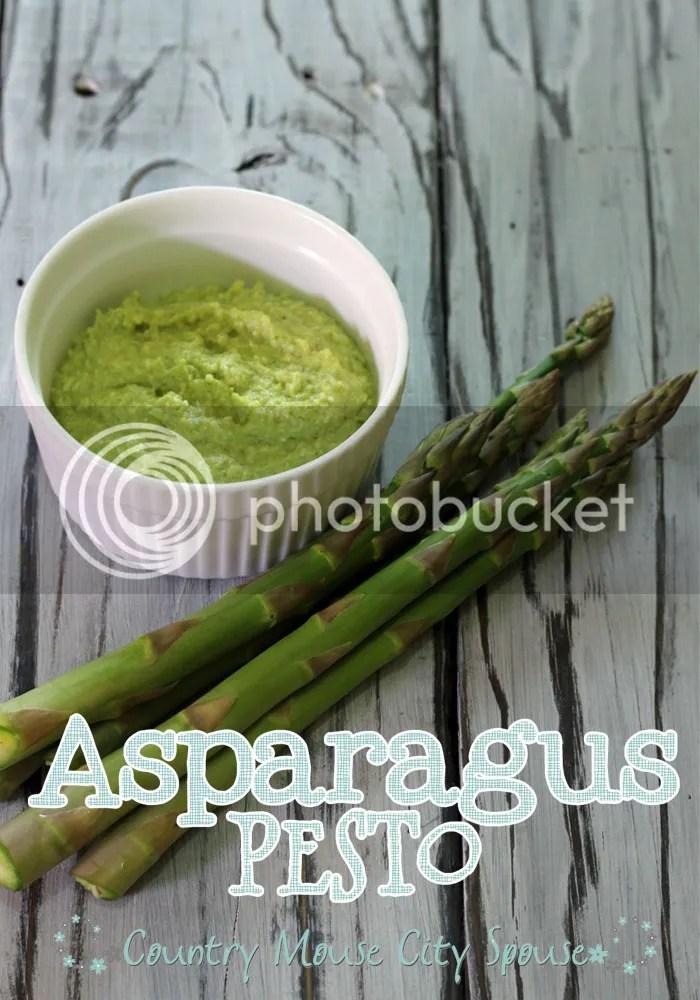 Homemade Asparagus Pesto- Country Mouse City Spouse