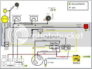 Simple Wiring Circuit for Custom  C90Clubcouk