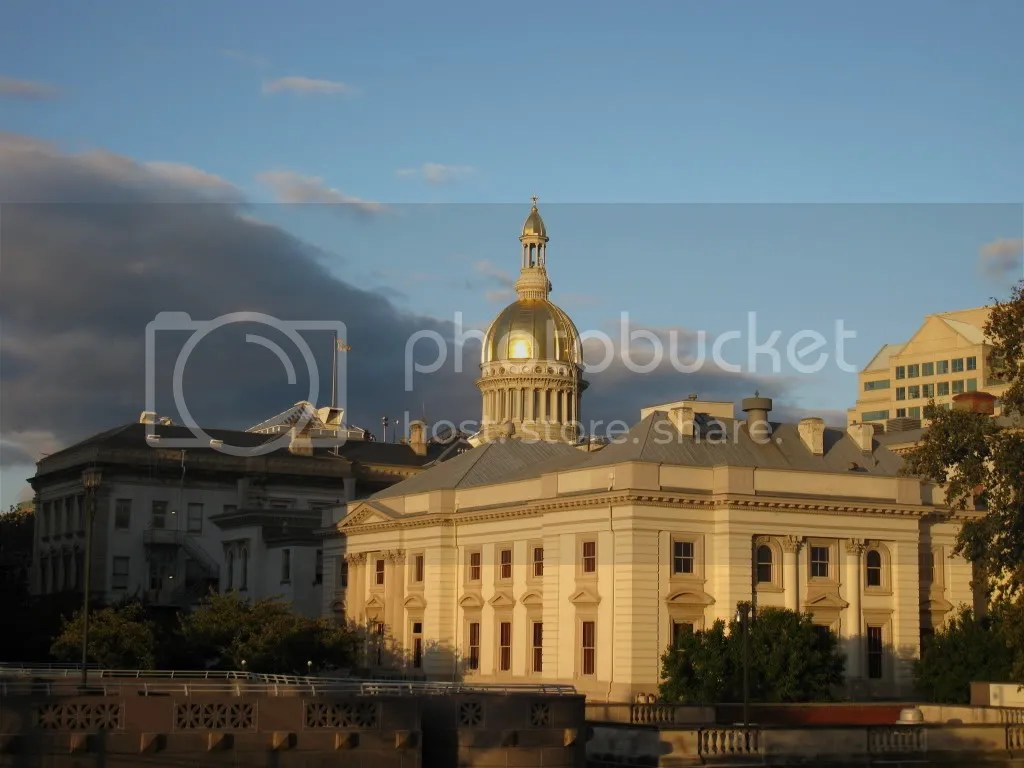 New Jersey's Capitol in Trenton, by Vagabond Voyage. Many complain it's difficult to get a good, nice looking photo of this building due to development around it. This photo is alleged to be one of the better photos possible.