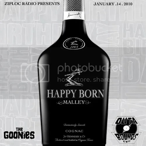 Happy Born Malley Ziploc Radio Goonies