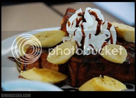 Cebu restaurant UCC Cafe banana cake