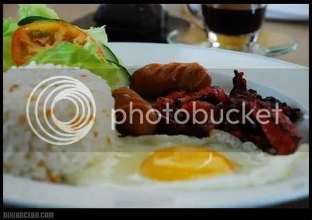 UCC Cafe Terrace Filipino Breakfast at the Terraces Ayala Cebu