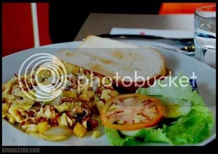 Cebu restaurant UCC Cafe Terrace breakfast special corned beef