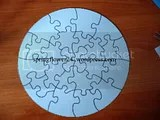 felicitare puzzle verso
