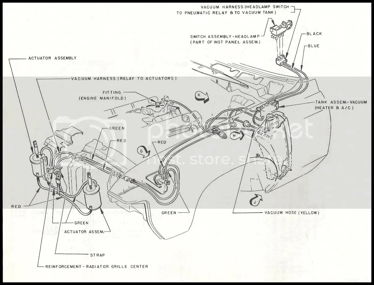69 Riviera Vacuum Diagram For The Hide Aways