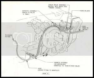 69 Riviera vacuum diagram for the hide aways | V8buick