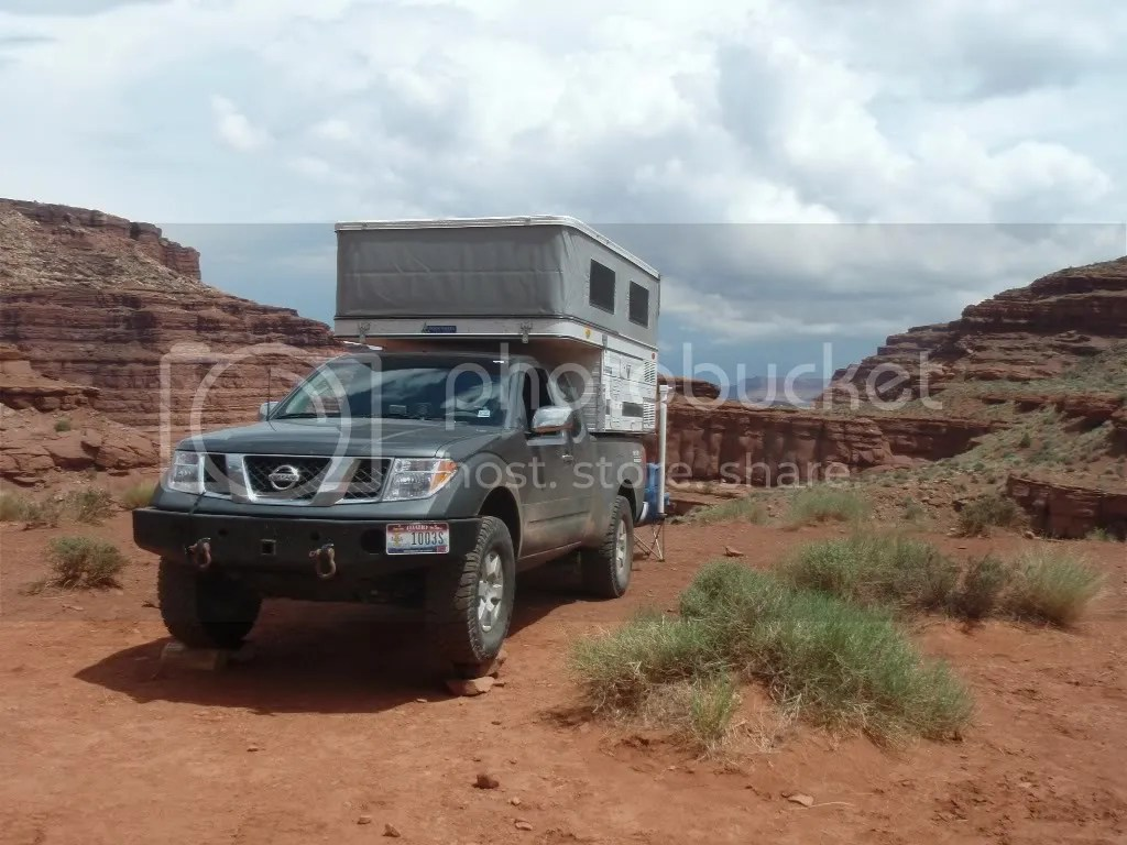 Nissan Frontier Short Bed Camper